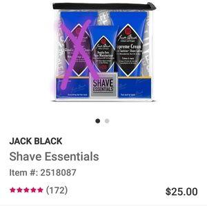 Jack Black 2 piece Shaving Essentials kit
